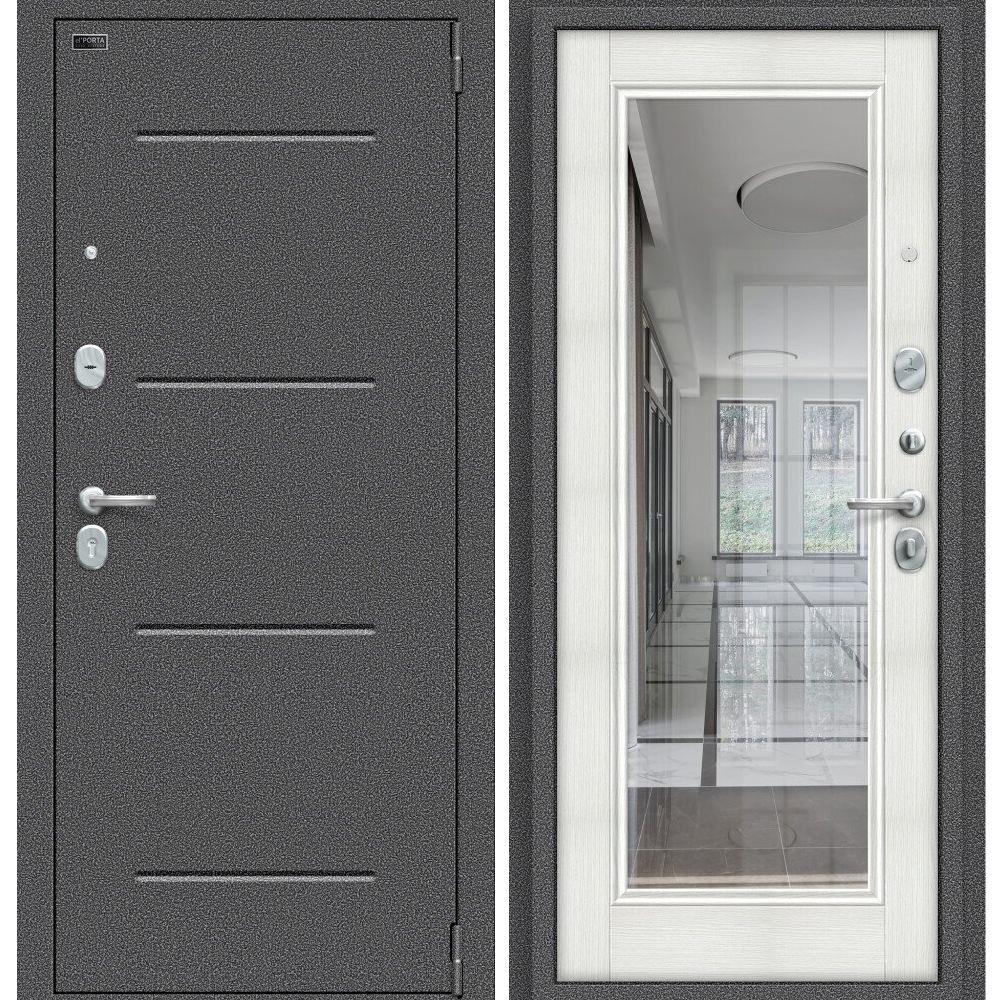 Porta S 104.П61 Антик Серебро Bianco Veralinga
