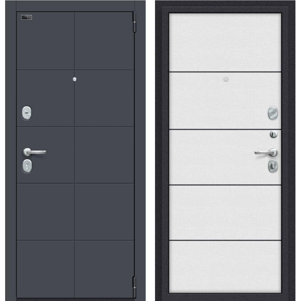 Porta S 10.П50 (AB-6) Graphite ProVirgin